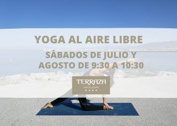 Yoga al aire libre verano 2021
