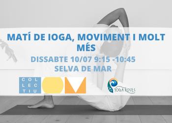 Sessió de ioga amb el Col.lectiu Om