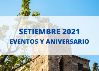 Eventos Setiembre 2021